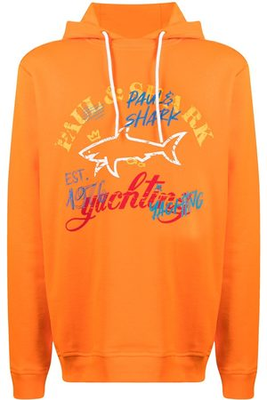 Paul & Shark Logo-print hoodie
