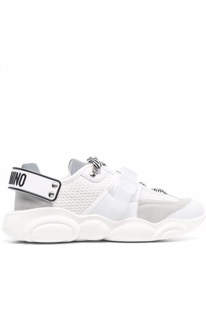 Moschino Teddy-sole low-top sneakers