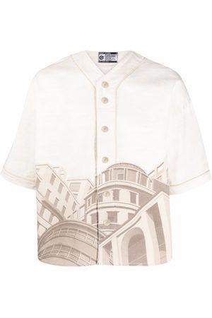 Formy Studio La Belle Città denim shirt - Neutrals