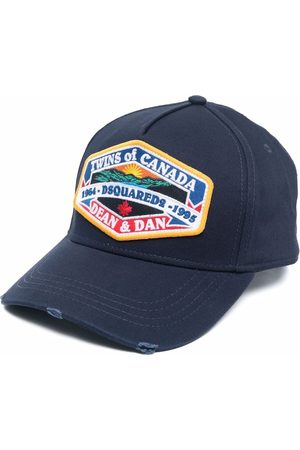 Dsquared2 Embroidered distressed cap