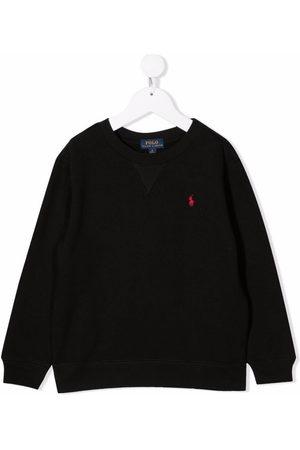 Ralph Lauren Kids Logo-embroidered sweatshirt