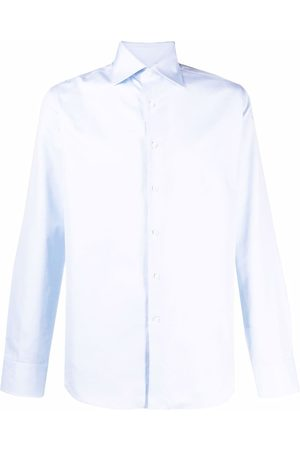 CANALI Button-up cotton shirt
