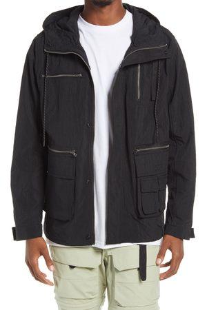 PACSUN Men's Tactical Zip-Up Hooded Jacket