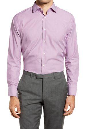 Nordstrom Men's Trim Fit Pinstripe Non-Iron Dress Shirt