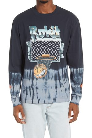 ROKIT Men's Firepower Basketball Long Sleeve Graphic Tee