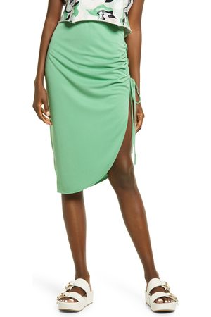 Open Edit Women's Side Ruched Skirt
