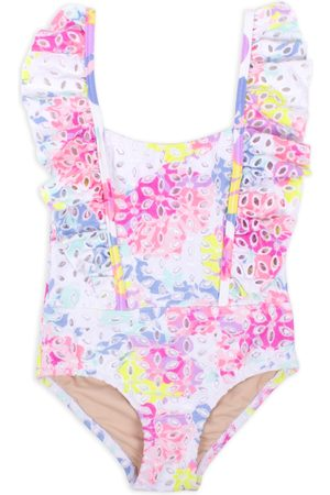 Shade Critters Infant Girl's Eyelet One-Piece Swimsuit