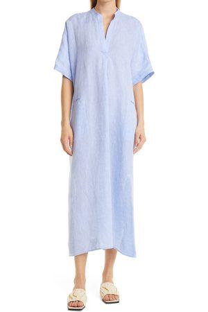 RACHEL COMEY Women's Culver Linen Short Sleeve Shift Dress