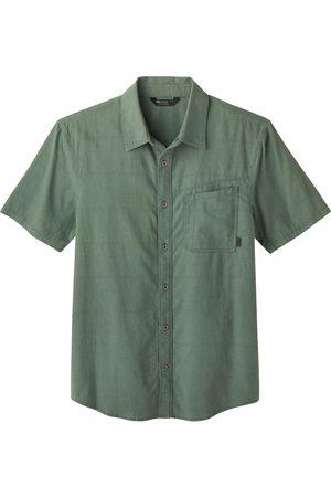 Outdoor Research Men's Weisse Short Sleeve Hemp & Organic Cotton Button-Up Shirt