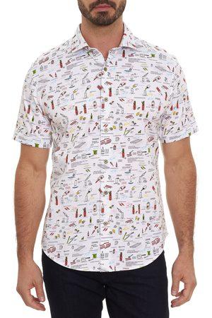 Robert Graham Men Short sleeves - Men's Maple Bourbon Classic Fit Short Sleeve Button-Up Sport Shirt