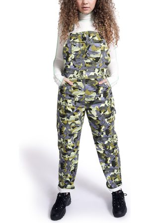 BP. + Wildfang Plus Size Women's Utility Overalls