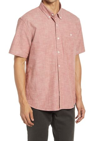 L.L.BEAN Men's Comfort Stretch Chambray Button-Down Shirt