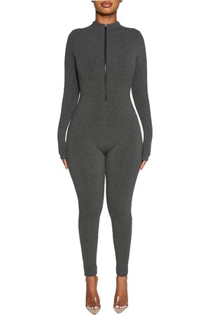 Naked Wardrobe Women's All Snatched & Zipped Jumpsuit