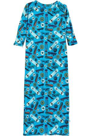 Posh Peanut Infant Boy's Cole Zip Bottom Gown