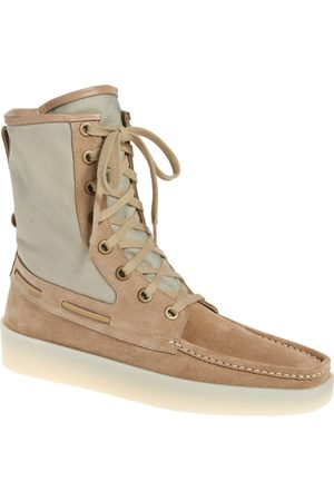 FEAR OF GOD Men Lace-up Boots - Men's Boat Lace-Up Boot