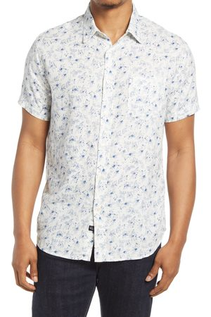 Rails Men's Carson Print Short Sleeve Button-Up Shirt