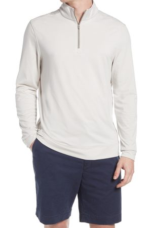 Southern Tide Men's Cruiser Stripe Quarter-Zip Pullover