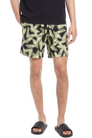 Open Edit Men's Print Drawstring Shorts