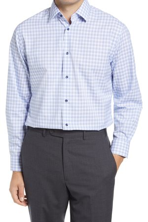 Nordstrom Men's Traditional Fit Plaid Stretch Non-Iron Dress Shirt