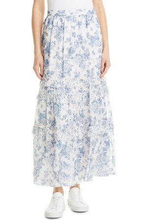 CAMI Women's Liu Silk Maxi Skirt