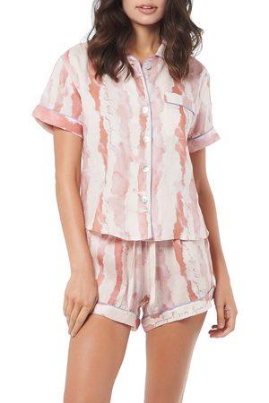 The Lazy Poet Women's Nina Linen Short Pajamas