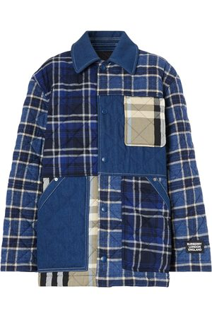 Burberry Women's Dunsby Quilted Flannel Shirt Jacket