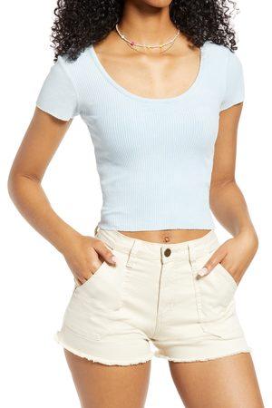 BDG Urban Outfitters Women T-shirts - Women's Rib Scoop Neck T-Shirt