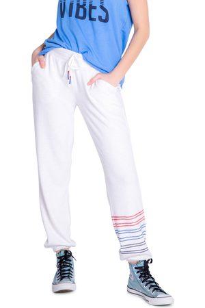 P.J.Salvage Women's Morning Dreams Stripe Hem Lounge Pants