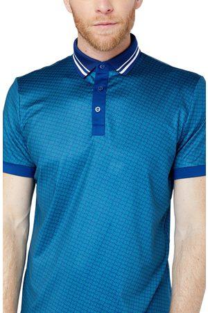Redvanly Men's Monogram Polo Shirt
