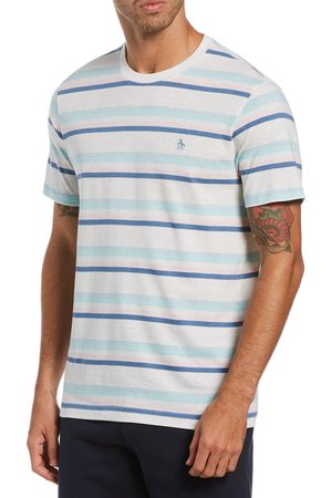 Original Penguin Men's e Stripe T-Shirt