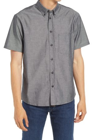 BILLY REID Men's Tuscumbia Standard Fit Short Sleeve Button-Down Shirt