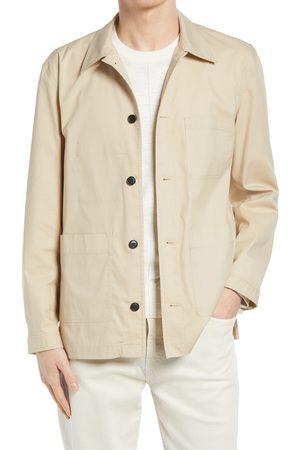 CLUB MONACO Men's Workwear Cotton Blend Jacket