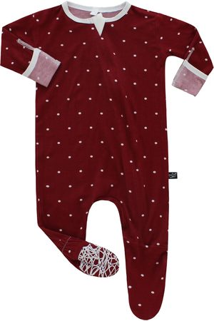 Peregrine Infant Girl's Print Fitted One-Piece Pajamas