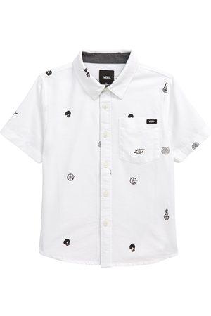 Vans Boy's Kids' Houser Short Sleeve Button-Up Shirt