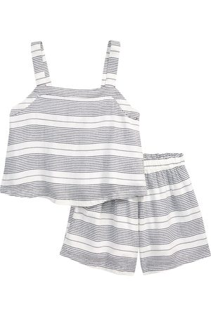 Nordstrom Girl's Kids' Stripe Tank & Shorts Set