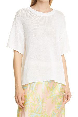 ATM Anthony Thomas Melillo Women's Oversize Short Sleeve Sweater