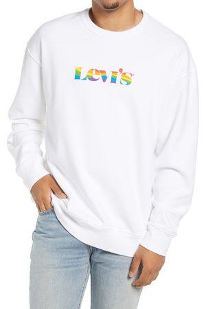 Levi's Men's Community Pride Logo Oversize Long Sleeve Graphic Tee