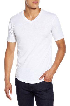 miss goodlife Men's Triblend Scallop V-Neck T-Shirt