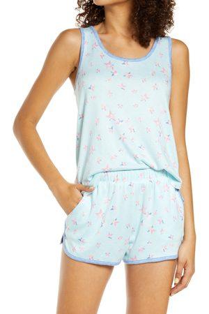 Emerson Road Women's Stripe Racerback & Shorts Pajama