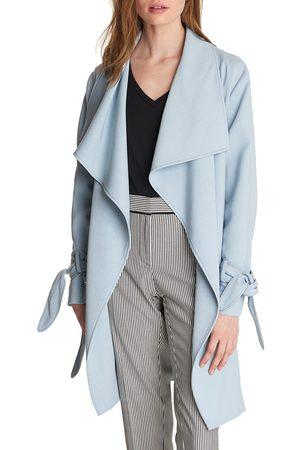 Karl Lagerfeld Women's Drop Belted Trench Coat