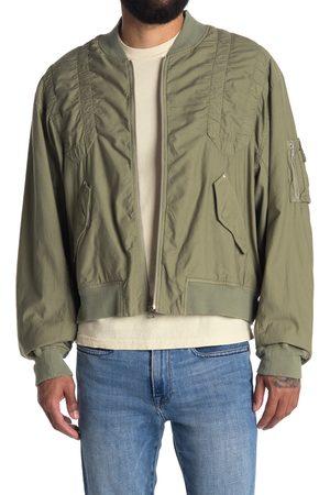JOHN ELLIOTT Men's Cotton Poplin Bomber Jacket