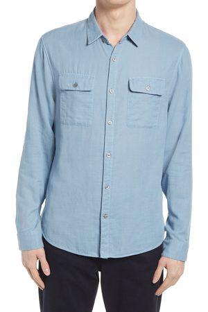 Vince Men's Regular Fit Button-Up Shirt
