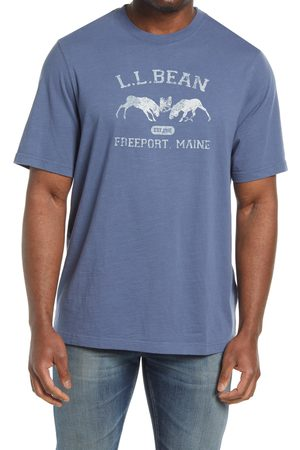L.L.BEAN Men's Men's Lakewashed Organic Cotton Graphic Tee