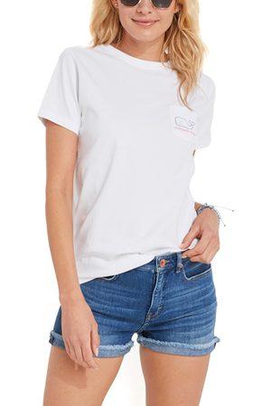 Vineyard Vines Women's Women's Short Sleeve Whale Graphic Pocket Tee
