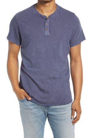 Marine Men's Stripe Henley T-Shirt