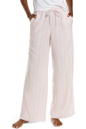 Nordstrom Women's Romantic Linen Blend Pajama Pants
