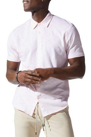 Good Man Brand Men's Shinjuku On-Point Short Sleeve Button-Up Shirt