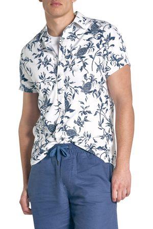 Rodd & Gunn Men's Featherson Print Short Sleeve Button-Up Shirt