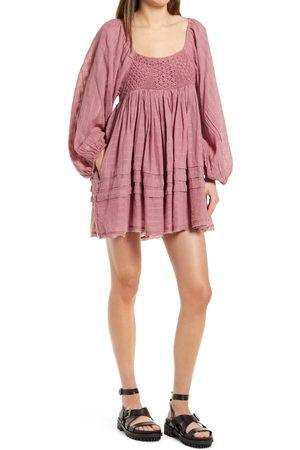 Free People Women's Ari Long Sleeve Minidress