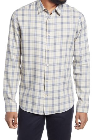 Vince Men's Weekday Plaid Long-Sleeve Button-Up Shirt